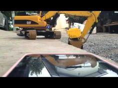 bruder   Construction machines   Caterpillar excavator toy