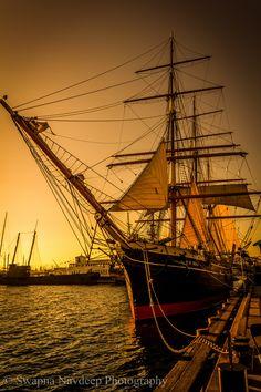 Oldest Iron-Hulled Merchant Ship!