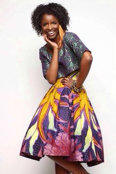 African fashion {THAT SKIRT!!!}