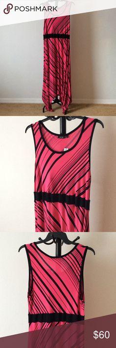 SIZES: 1X & 2X NWT Shark bite dress NWT Shark bite full length tank striped dress. hctwtwqz Apt. 9 Dresses Maxi