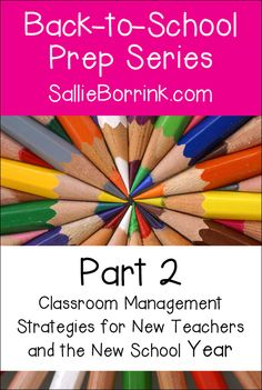 Check out these classroom management strategies for new teachers and the new school year! Also great for teachers who struggle with management or just like to explore news ideas regarding how to manage a classroom more effectively!