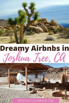 Are you looking for the perfect Airbnb in Joshua Tree National Park? I've put together a list of unique places to stay and cabins in Joshua Tree National Park for an incredible experience. joshua tree house | joshua tree national park hotels | joshua tree boutique hotels| hotels near joshua tree| hotels in joshua tree | joshua tree hotels Where to stay in Joshua Tree Usa Travel Guide, Travel Usa, Travel Tips, Amazing Destinations, Travel Destinations, Us Road Trip, Travel Reviews, United States Travel, Beautiful Places To Visit