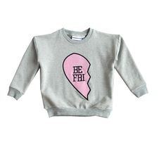 Gardner and the Gang BEST FRIEND SWEAT SHIRT back front print