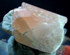 46 Gram Lovely Peach Color Naturla MORGANITE Crystal Specimen from Afghanistan