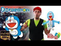 Doraemon Tutorial Balloon Art - Scultura con Palloncini - Tutorial Doraemon Balloon Art. How to Twist Doraemon with balloons. Video tutorial per realizzare Doraemon con i palloncini modellabili per sculture.