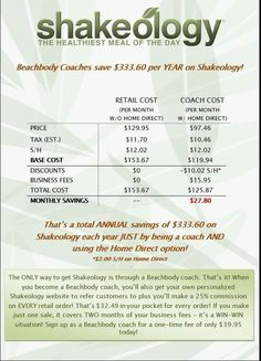 I started coaching simply for the discount!!! If you are interested in Shakeology www.myShakeology.com/CoachTammyC