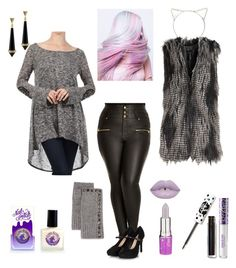 Adult Mature Pastel Goth by kristaleedistylish on Polyvore featuring polyvore fashion style J-Mode USA Los Angeles City Chic House of Harlow 1960 Neiman Marcus Emi Jewellery Lime Crime clothing
