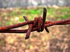 alambre oxidado