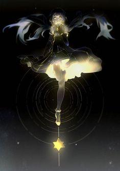anime girl, vocaloid, and stardust image Anime Oc, Anime Angel, Kawaii Anime Girl, Anime Art Girl, Anime Girls, Anime Artwork, Fantasy Artwork, Anime Fantasy, Hatsune Miku