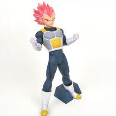Dragonball Super: Cyokuku Buyuden Super Saiyan God Vegeta Figure