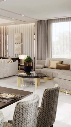 home décor videos for houses living room with lux decoration. Check out our the best interior design videos ideas for living rooms. Rooms Home Decor, Interior Design Living Room, Living Room Designs, Living Room Decor, Living Rooms, Classy Living Room, Sofa Design, Hotel Room Design, Luxury Sofa