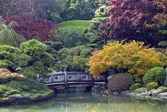 botanical gardens brooklyn | Japanese Garden in Fall at Brooklyn Botanic Garden, Brooklyn, New York ...