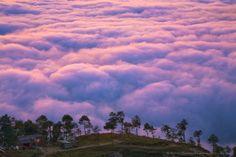 Above the clouds - Nagarko, Himalaya