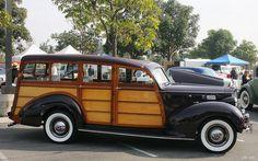 1938 Packard Six (110) 1600 Station Sedan - maroon
