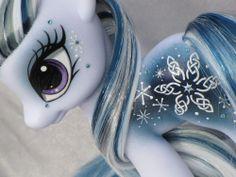 My Little Pony Custom *** MEG *** G4 Fashion Style **FS** Celtic Snow Flake #Hasbro