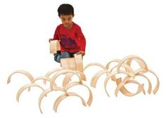 Wooden Arches – Set of 25