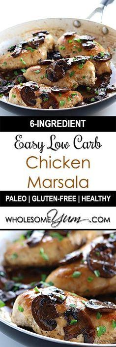 9 Best Chicken Marsala Recipes Images Chicken Marsala Recipes