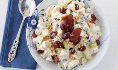 WALDORFSALAT | TRINES MATBLOGG Waldorf Salat, Mango, Oatmeal, Salads, Sandwiches, Food And Drink, Lunch, Dishes, Vegetables