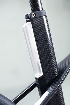 Details we like / Bicycle / Frame / Carbon / Light / Black / Matte / See Through/ at leManoosh.com