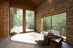 Whispering Pines - eclectic - bathroom - houston - Vacation Home Builders