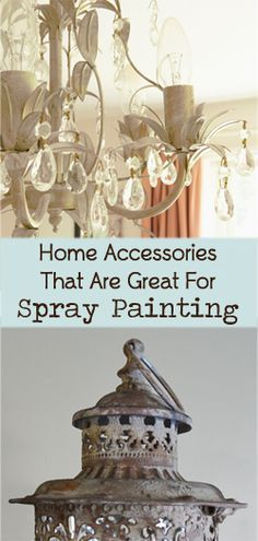 Home Decor Accessories That Are Great For Spray Painting