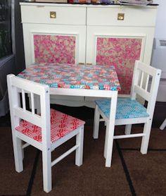 Decopatch furniture - love it!
