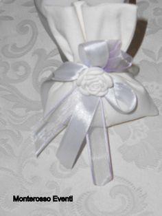 sacchetto con gessetto a fiore