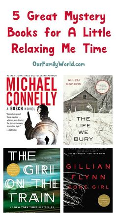 """Need some """"me"""" time? Get lost in a good whodunit with these 5 great mystery books! Check them out! Best Books To Read, Books To Read Online, Good Books, My Books, Best Mystery Books, Greatest Mysteries, Book Suggestions, Book Recommendations, Book Club Books"""
