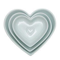 Duck Egg Country Heart Collection Nesting Bowls . Dunelm .