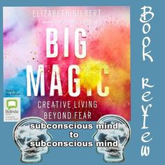 "Pauline Reid (New Zealand 🇳🇿) on Instagram: ""#bookreview #bookrecommendation Focused, yes I was totally focused when I was listening to this audiobook. . Subconscious mind meets…"" Elizabeth Gilbert, Subconscious Mind, Book Reviews, Audiobook, Book Recommendations, Mindfulness, Author, Reading, Instagram"