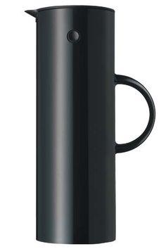 STELTON black vacuum jug for tea or coffee