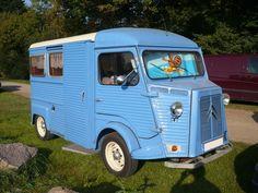 CITROËN type H aménagé en camping-car