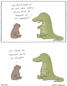 present perfect practice - comic from http://lizclimo.tumblr.com/