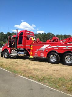 Jamie Davis Towing The winning truck at the truck show on the weekend in Mission Bc. This is the truck Colin looks after