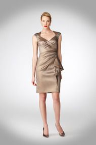 Embellished Taffeta Dress - Cocktail at Maggy London