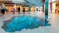 Floor decals and graphics make great guerrilla-style advertisements in large public places like this mall. Check out the different possibilities you have: http://www.godecals.net/vinyl-floor-graphics-advertising