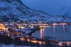 fishing village in Finnmark, Norway