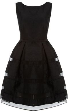 this shape, but gray    Untold Button Fastening Fit and Flare Dress in Black - Lyst
