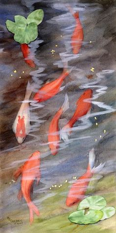 Koi by maryellengolden on Etsy, $20.00
