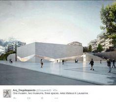 Arquitetos portugueses vencem concurso para museu na Suíça