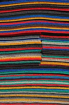 Carpets from Penang--Photo by Bertrand Linet