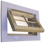 making a shed window