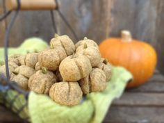 Vegan Pumpkin Butter Cookies - The Fussy Fork