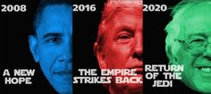 Funniest Political Memes of 2016: Stars Wars Trilogy