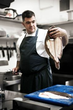 INDUSTRY PROFILE.. interview with Nathan Outlaw  Although Nathan Outlaw grew up in Kent, he is more often associated with Cornwall: his eponymous two-Michelin-starred flagship and the more casual Outlaw's Seafood & Grill are both located in Rock; Academy Nathan Outlaw at Cornwall College opened earlier this year; while a new venture in Looe will launch in 2013. In October, the chef opened his first London restaurant, etc... Square Meal caught up with the unstoppable chef.