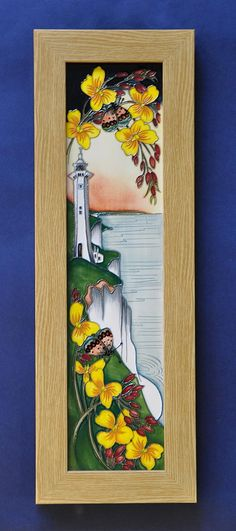 Moorcroft Pottery Dover Plaque Kerry Goodwin an Edition of 150 http://www.bwthornton.co.uk/moorcroft.php