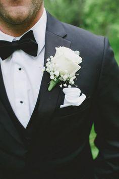 Crocus Designs Halifax Nova Scotia Florist  groom boutonniere flowers www.crocusdesignsbylaura.com   This Sweet Love Photography