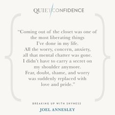 15 Quotes From Quiet Confidence: Breaking Up With Shyness - Quietly Successful: Unlock The Authentic Leader Within Quiet Confidence, Success Coach, Hypnotherapy, Coming Out, Breakup, Clinic, No Worries, Anxiety, Coaching
