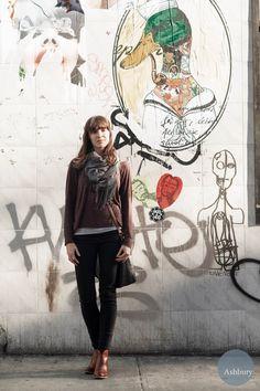 Alex Friend @karmagypsy featured on a street style blog