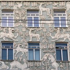 FBF. Moscow. Could not resist to make a another photo of this wonderful facade and publish again #hello#moscow#travel #work#decor #decoration #decorative #design#detail#facade#20thcentury #architecture #interior#exterior#interiordecoration #chic #style #luxury #lifestyle #livingwithstyle #unique #moscow#fbf